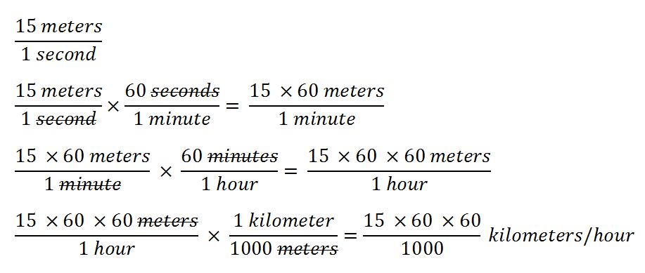 how to turn kilometers into meters