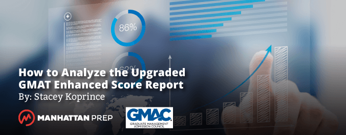 Manhattan Prep GMAT Blog - How to Analyze the Upgraded GMAT Enhanced Score Report by Stacey Koprince