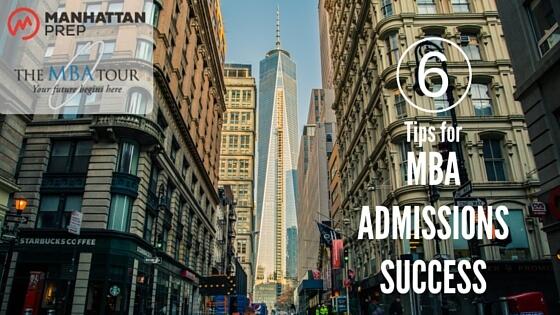 Manhattan Prep GMAT Blog - The MBA Tour US
