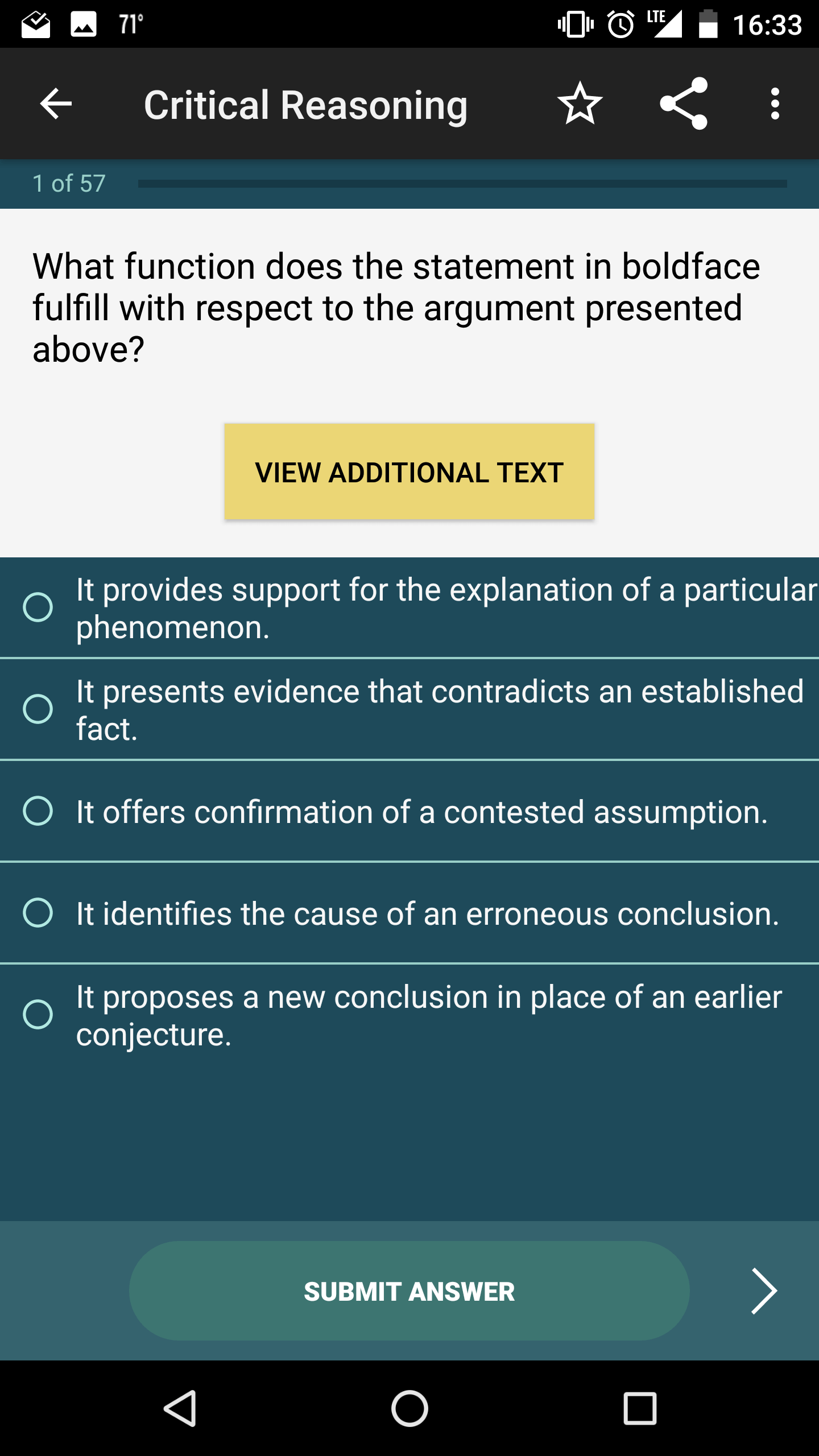 gmat critical thinking practice questions