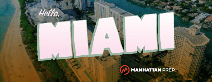 Manhattan Prep GMAT Blog - Hello, Miami! Introducing Our Very First Miami GMAT Course - Taught by Daniel Fogel