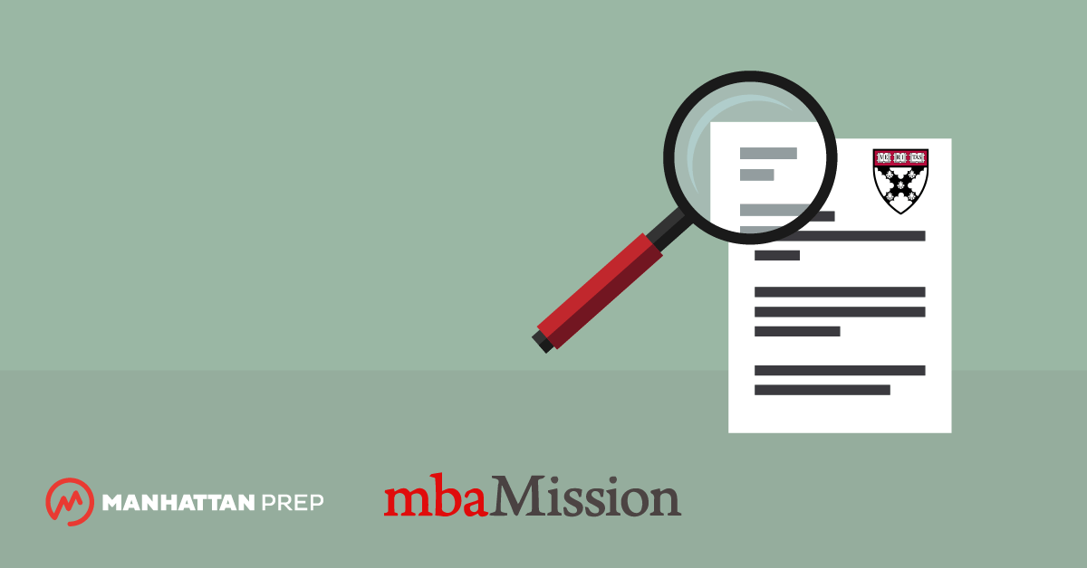 Manhattan Prep GMAT Blog - Harvard Business School Essay Analysis, 2017-2018 by mbaMission