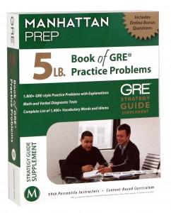 GRE 5 pound book
