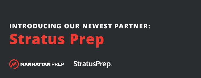 Manhattan Prep GRE Blog - Introducing Our Newest Partner: Stratus Prep