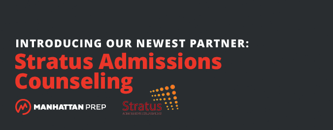 Manhattan Prep LSAT Blog - Introducing Our Newest Partner: Stratus Admissions Counseling by Manhattan Prep